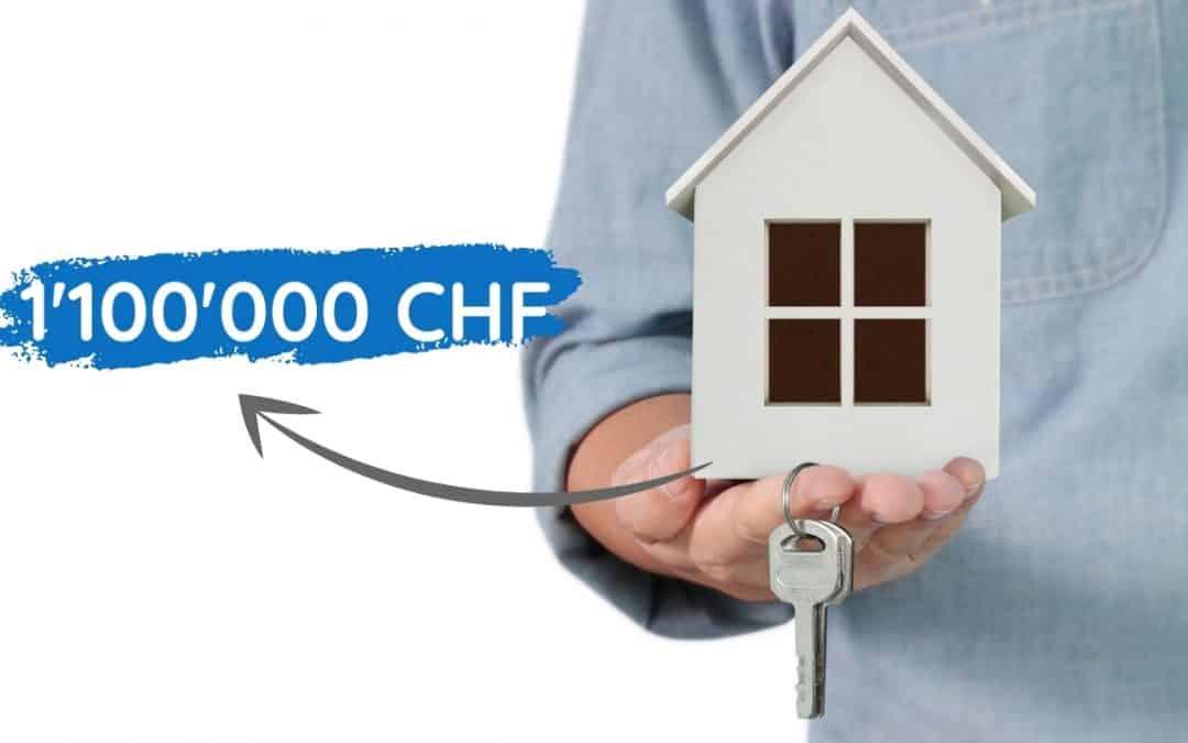 1'100'000 CHF Hypothek