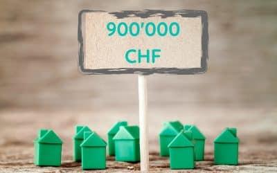 900'000 CHF Hypothek